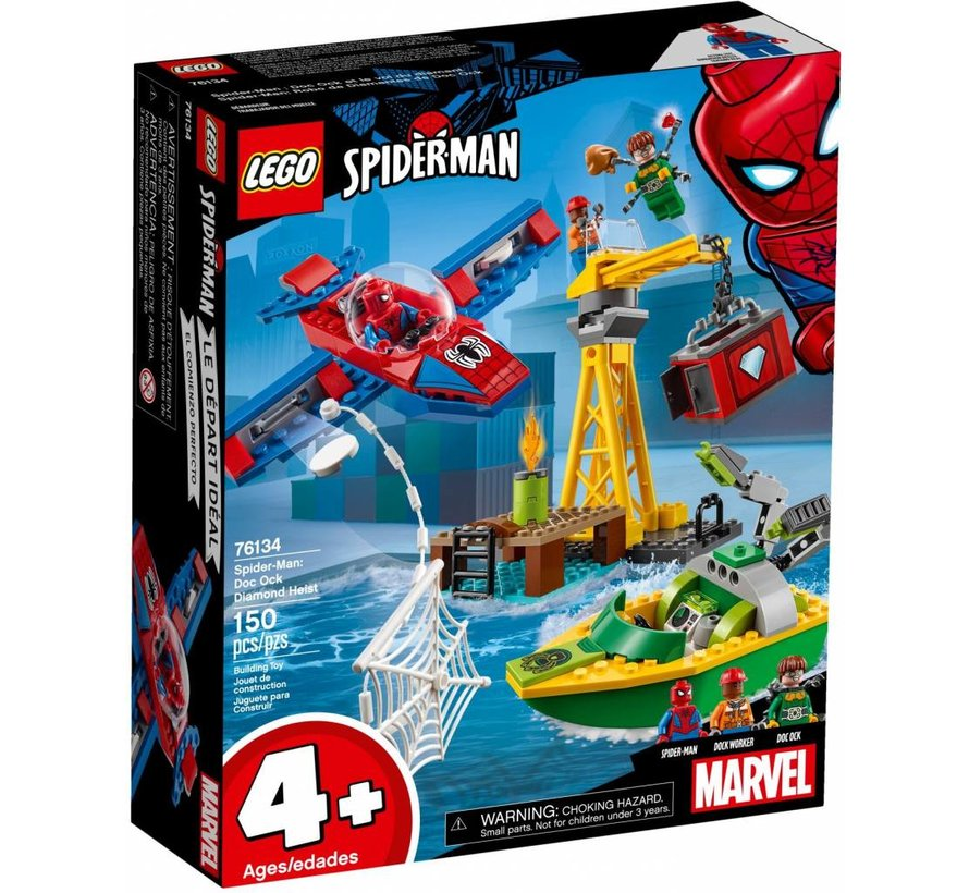 76134  Super Heroes Spider-Man: Doc Ock diamantroof