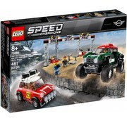 LEGO 75894  Speed Champions 1967 Mini Cooper S Rally en 2018 MINI John Cooper Works Buggy