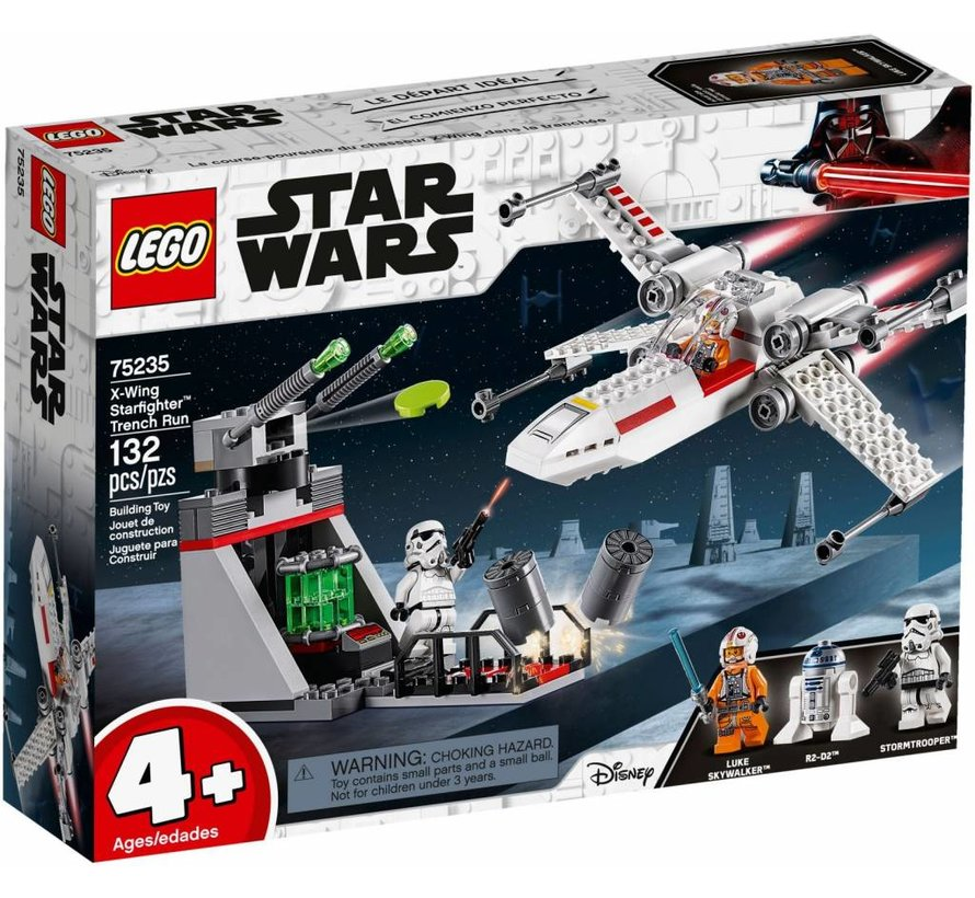 75235  Star Wars X-Wing Starfighter Trench Run