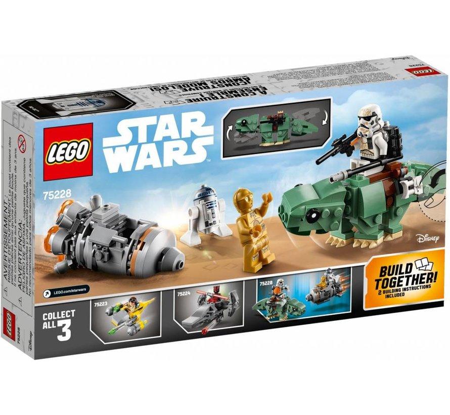 75228 Star Wars Escape Pod vs. Dewback Microfighters