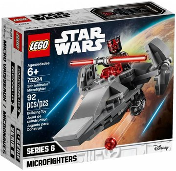 LEGO 75224  Star Wars Sith Infiltrator Microfighter