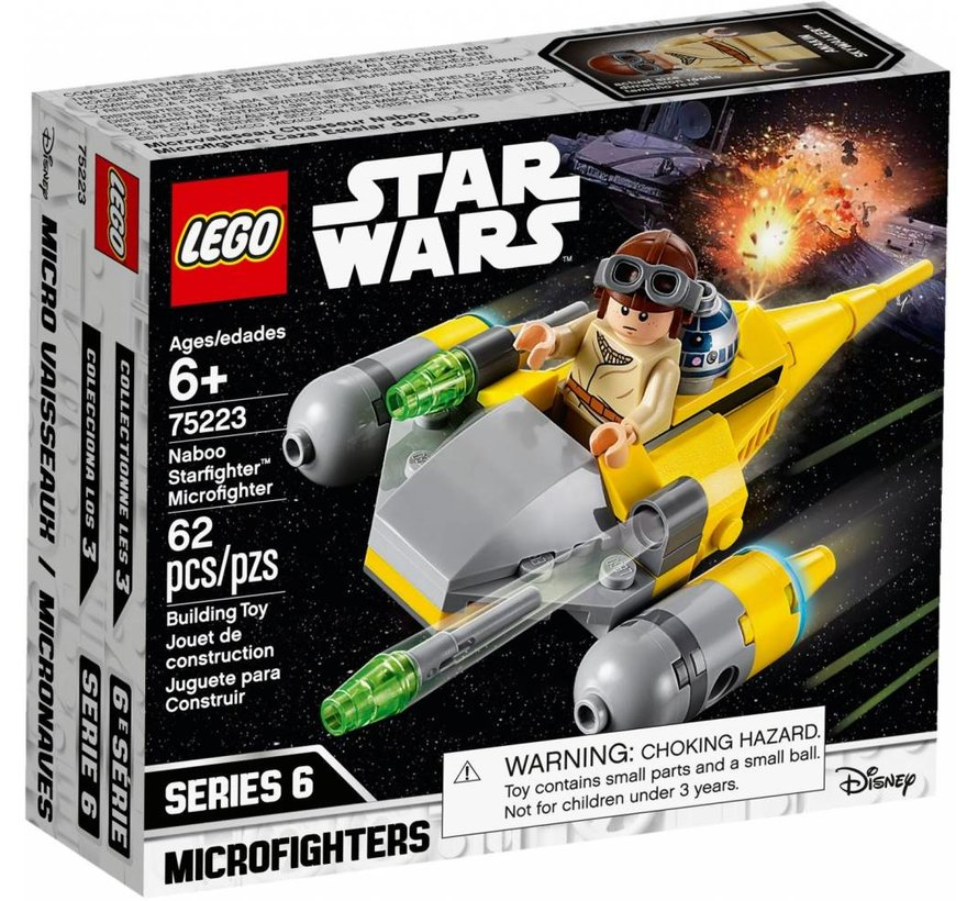 75223 Star Wars Naboo Starfighter Microfighter