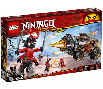 LEGO 70669 Ninjago Cole`s Earth Driller
