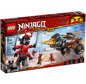 LEGO 70669 Ninjago Cole`s Earth Driller