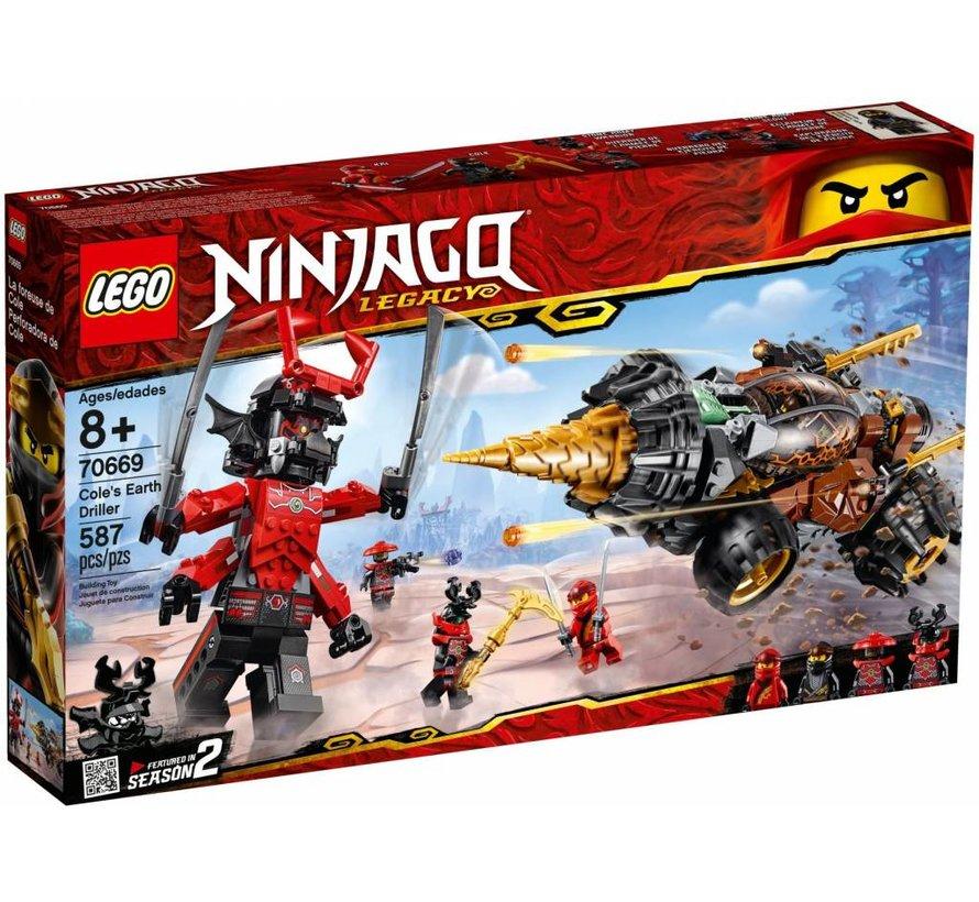 70669 Ninjago Cole`s Earth Driller