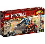 LEGO 70667 Ninjago Kai`s Blade Cycle en Zane`s Snowmobile