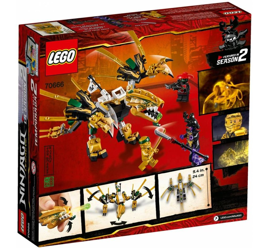 70666 Ninjago The Golden Dragon