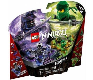 LEGO 70664 Ninjago Spinjitzu Lloyd vs Garmadon