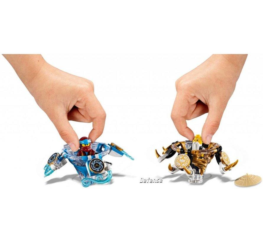 70663 Ninjago Spinjitzu Nya en Wu