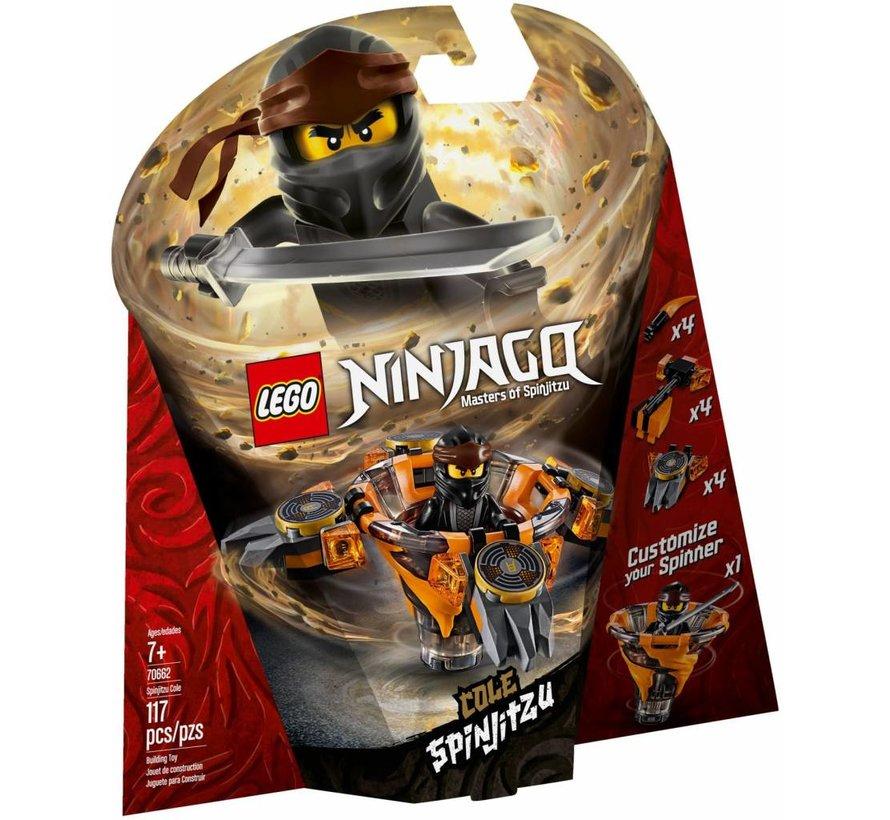 70662 Ninjago Spinjitzu Cole