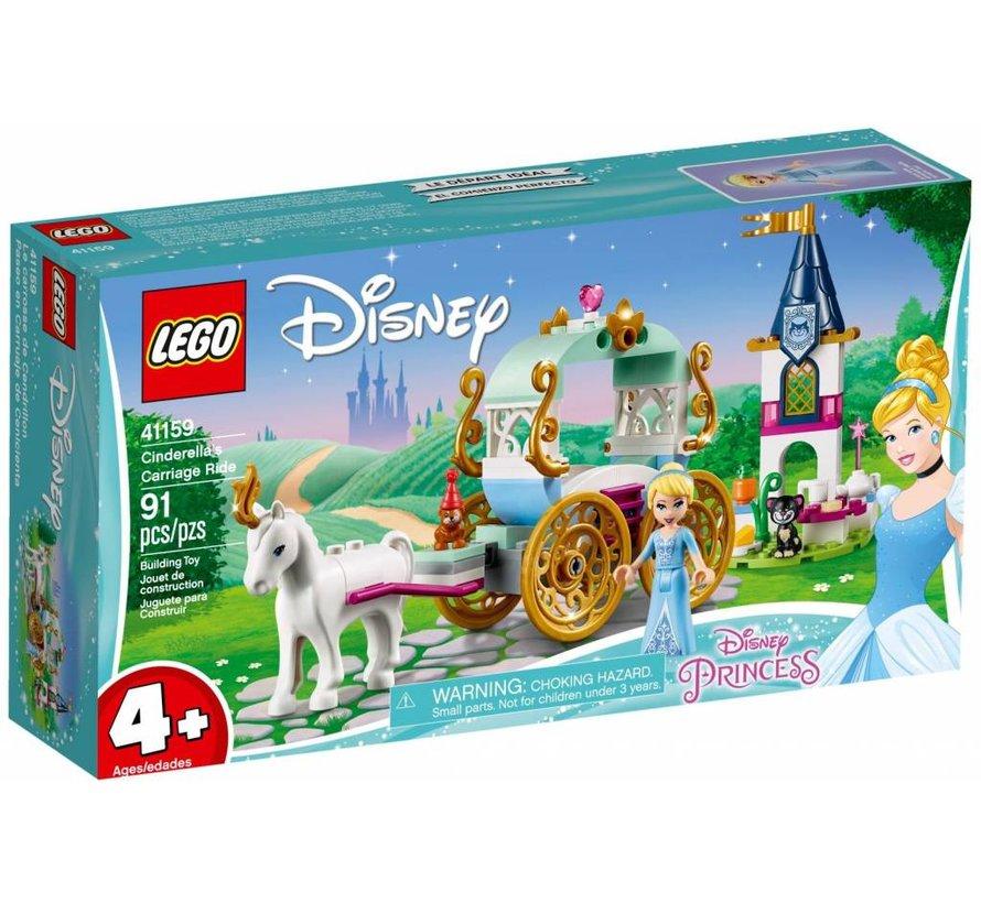 41159 Disney Princess Assepoesters koetstocht