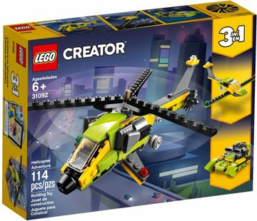 LEGO 31092 Creator Helikopter avontuur