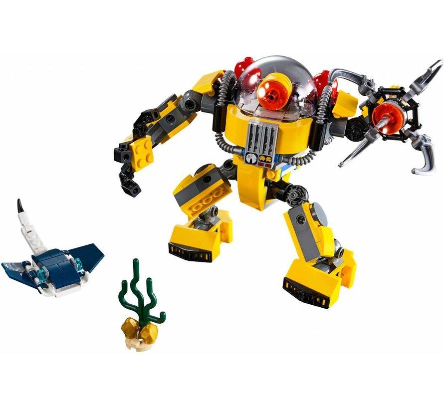 31090 Creator Onderwater robot