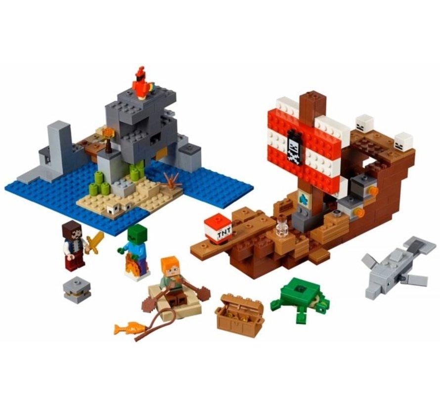 21152 Minecraft Avontuur op het piratenschip