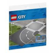 LEGO 60237 City Bochten en kruising