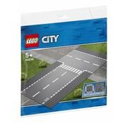 LEGO 60236 City Rechte wegenplaten en T-kruising