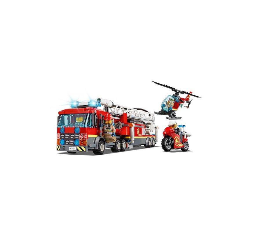 60216 City Brandweerkazerne in de stad