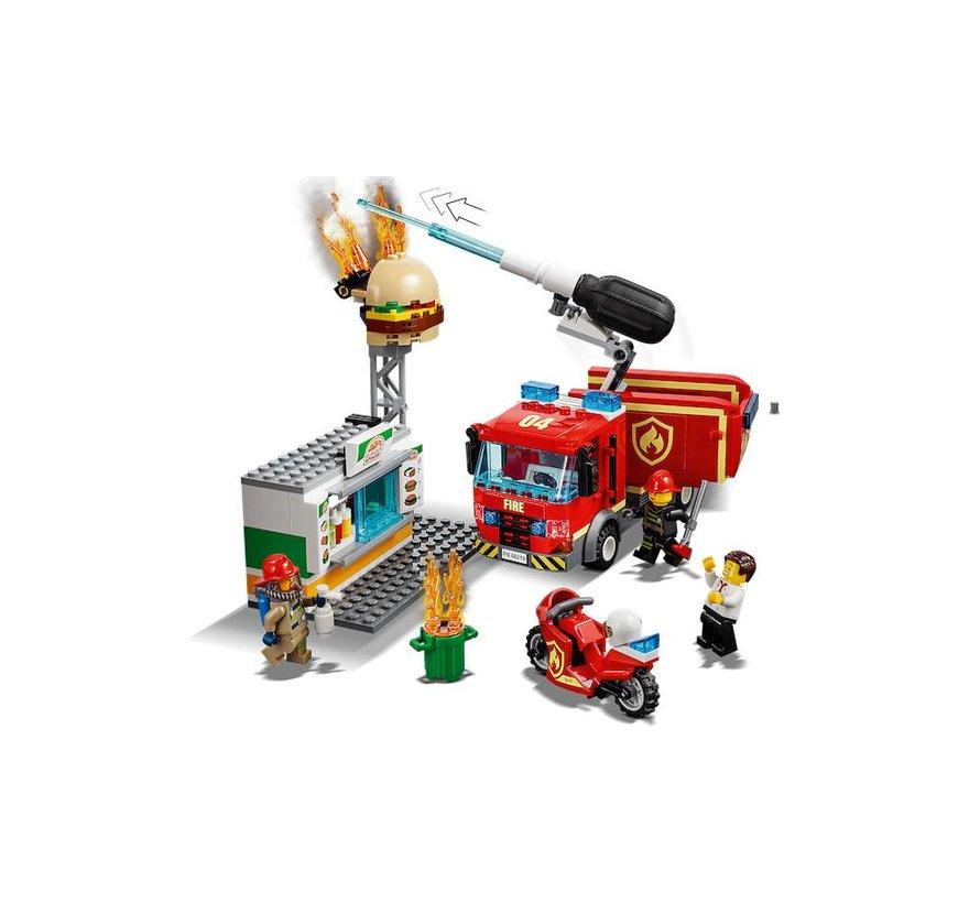 60214 City Brand bij het hamburgerrestaurant