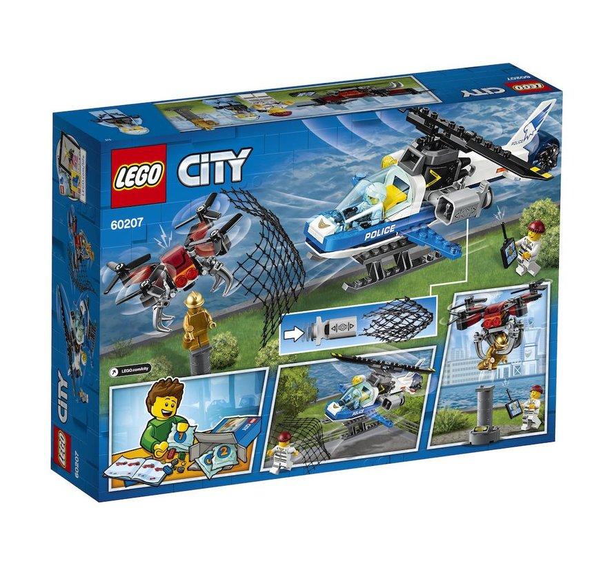 60207 City Luchtpolitie Drone Achtervolging