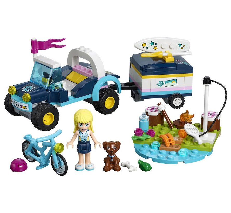 41364 Friends Stephanie`s Buggy en Trailer