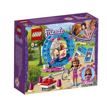LEGO 41383 Friends Olivia`s hamsterspeelplaats