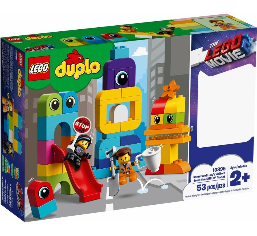 10895 Duplo The Movie Emmet en Lucy