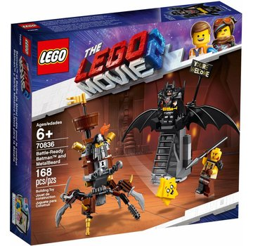 LEGO 70836 The Movie Battle-Ready Batman en MetaalBaard