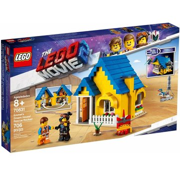 LEGO 70831  The Movie Emmets droomhuis/reddingsraket
