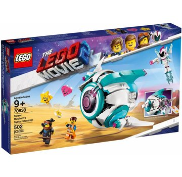 LEGO 70830  The Movie Lieve Chaos'Systar ruimteschip