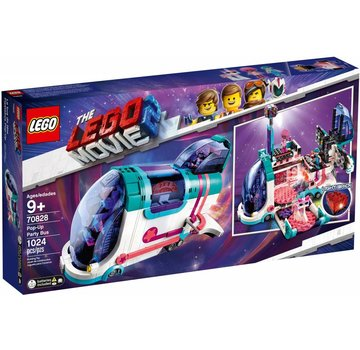 LEGO 70828  The Movie Uitklap feestbus