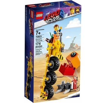 LEGO 70823  The Movie Emmet's driewieler