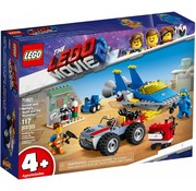 LEGO 70821  The Movie Emmets en Benny's bouw- en reparatiewerkplaats