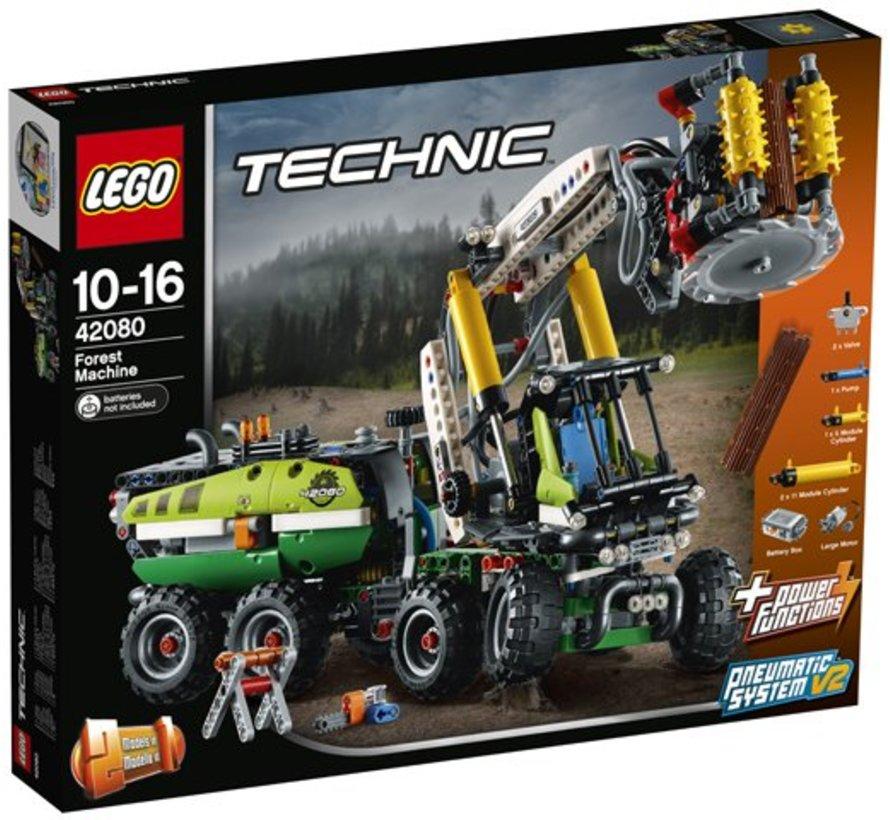 [BREUK] 42080 Technic Bosbouwmachine