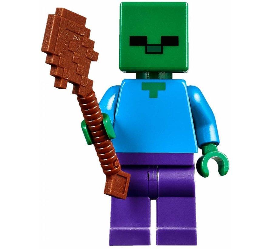 [BREUK] 21134 Minecraft De Watervalbasis