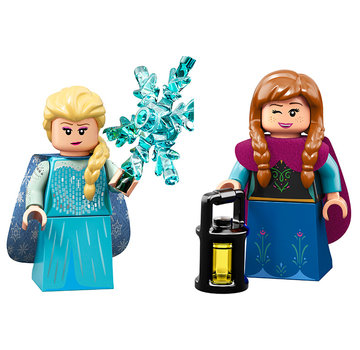 LEGO 71024 Frozen -  Anna en Elsa