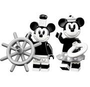 LEGO 71024 Vintage Mickey en Minnie