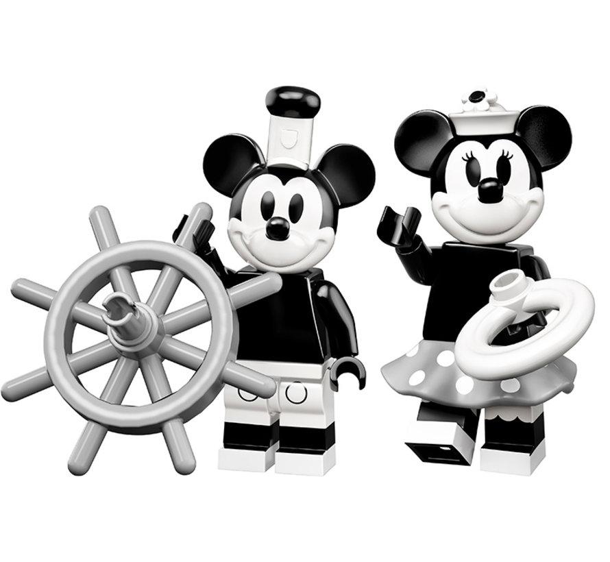 71024 Vintage Mickey en Minnie