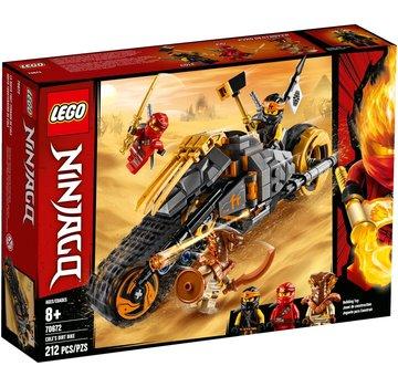 LEGO 70672 Ninjago Cole's crossmotor