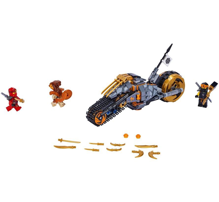70672 Ninjago Cole's crossmotor