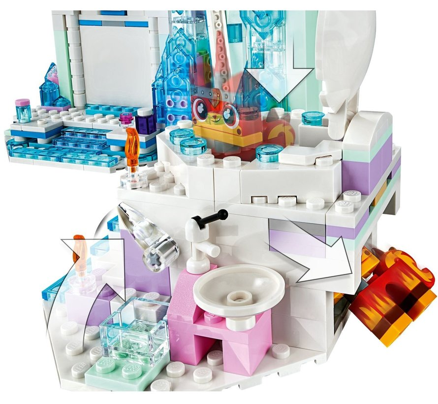 70837 LEGO Movie Glitterende schitterende spa!