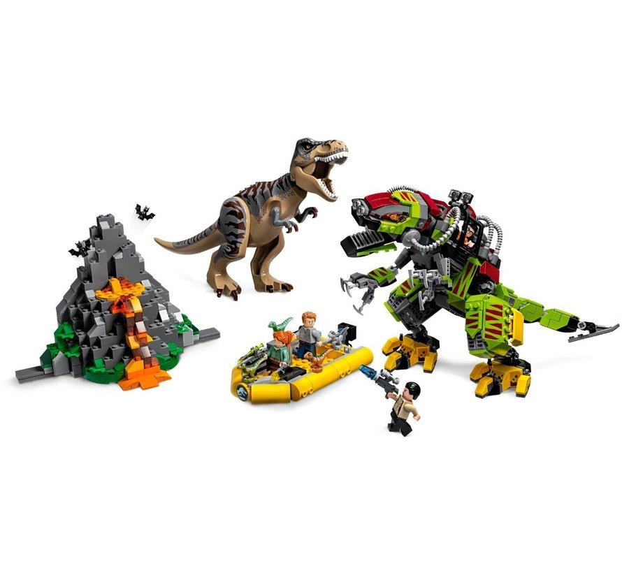 75938 Jurassic World T. Rex vs. Dinomecha gevecht