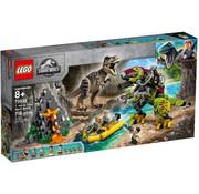 LEGO 75938 Jurassic World T. Rex vs. Dinomecha gevecht