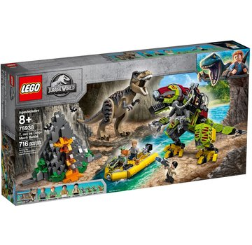 LEGO 75938 Jurassic World T. Rex vs. Dinomecha gevecht