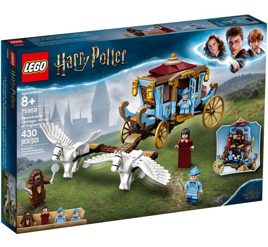 75958 Harry Potter De koets van Beauxbatons: aankomst bij Zweinstein