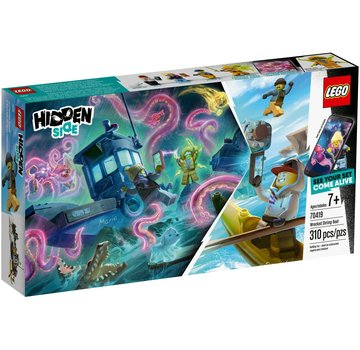 LEGO 70419 Hidden Side Schipbreuk met garnalenboot