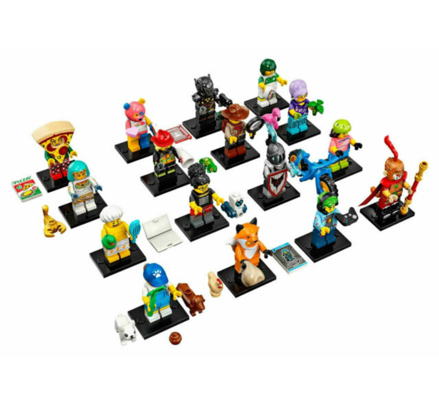 71025 CMF Minifiguren Serie 19