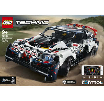 LEGO 42109 Technic App Gestuurde Top Gear Rally Auto