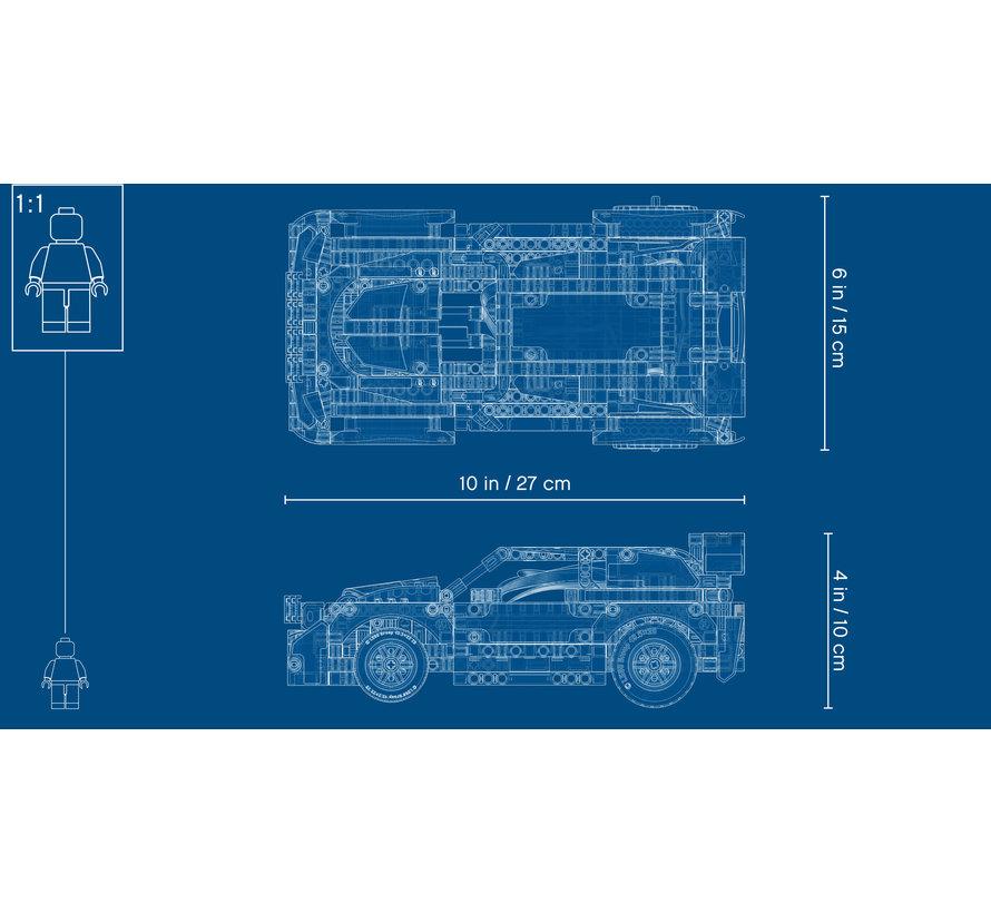 42109 Technic App Gestuurde Top Gear Rally Auto