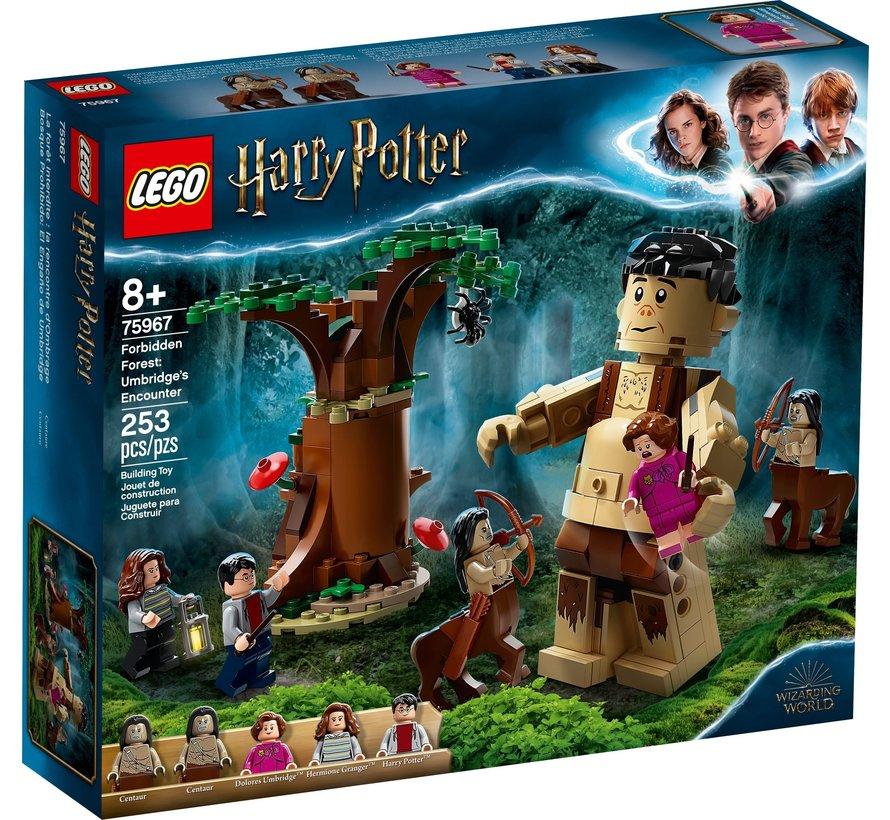 75967 Harry Potter Het Verboden Bos: Omber's ontmoeting met Groemp