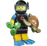 LEGO 71027-12  CMF Sea Rescuer